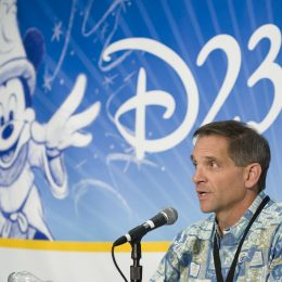 Hosting a series of conferences at the initial D23 Convention at the Anahei Convention Center.