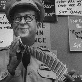 Phil Silvers: From Burlesque and Blinky to Bilko and Beyond